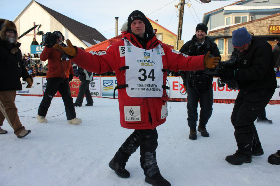 Iditarod 2012 Winner, Dallas Seavey.