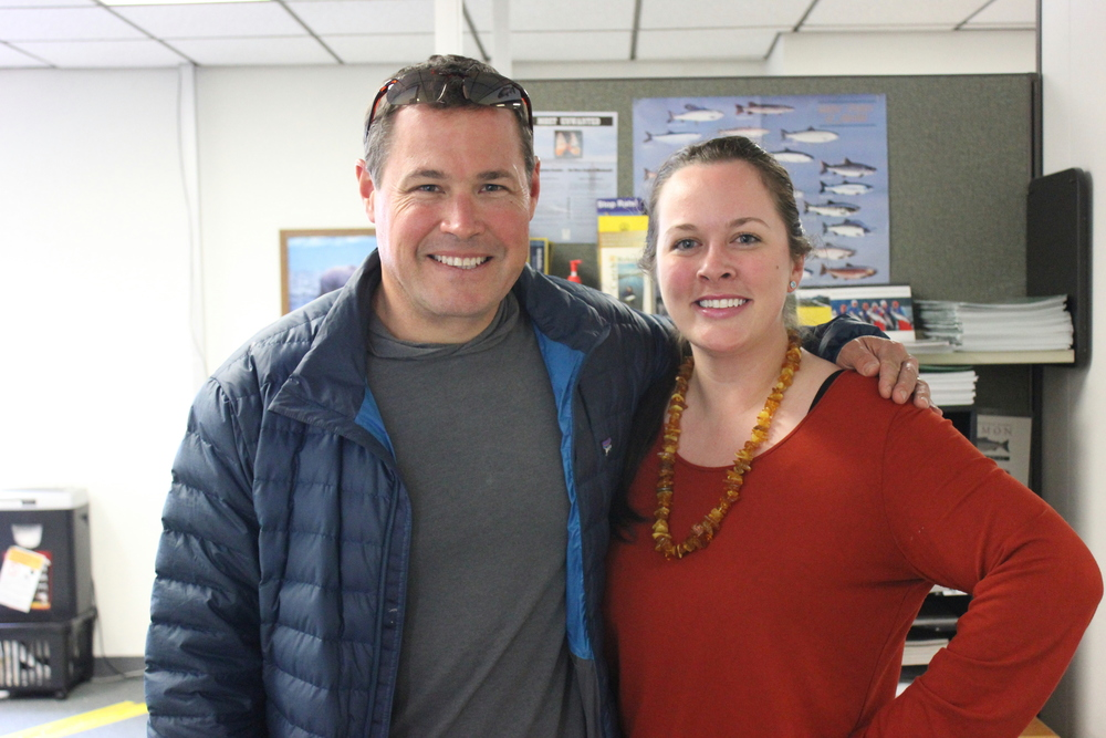 With THE Jeff Corwin, television host from the Animal Planet.  Yes, he is just as dreamy in person.