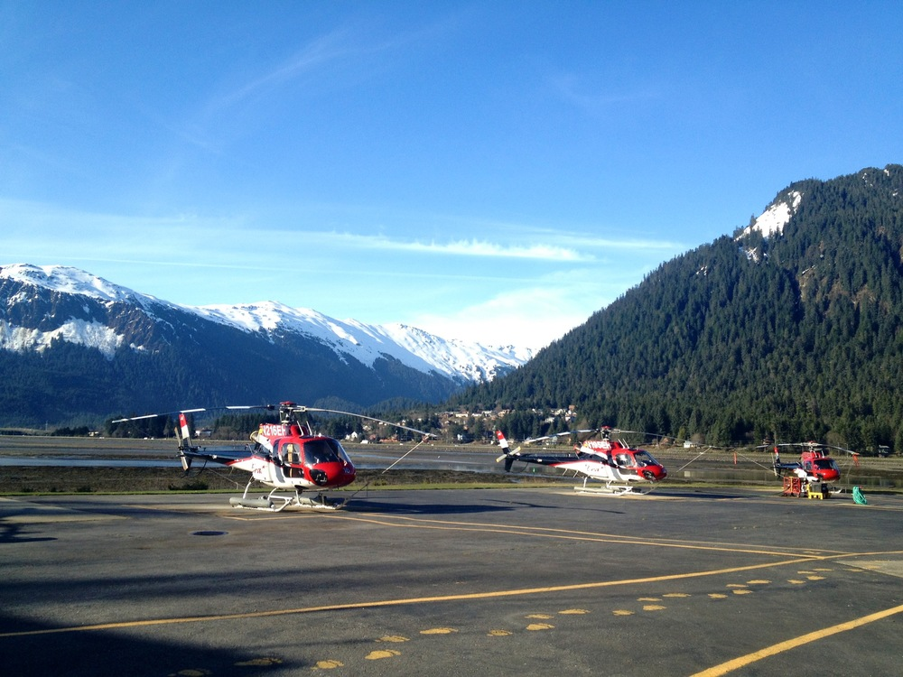 Bluebird skies = perfect flying weather!