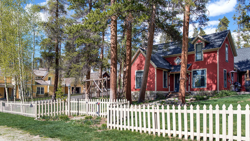 Historic homes abound in Breckenridge. Many are stunning, brightly colored and well restored examples of turn-of-the-century architecture. There are also many classic and unpolished sheds, barns, and homes in varying states of disrepair and showing a constant weathering since the late 1800's.