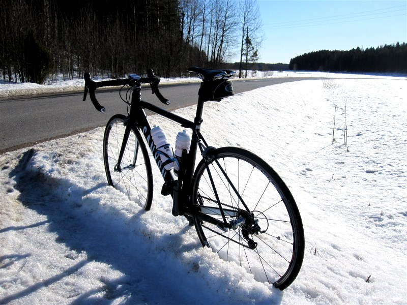 First outdoor ride in 2012