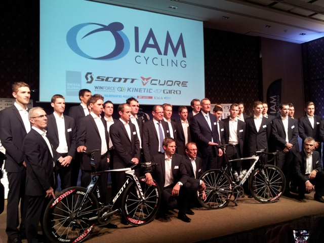 Team IAM Cycling (Photo by Guillaume Boillot)