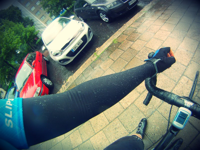 Rainy rides are not that bad when you are properly equipped