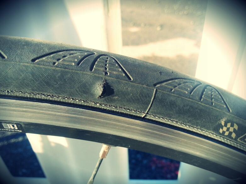 First puncture resulted in a big blast