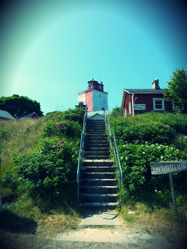 The Utö lighthouse