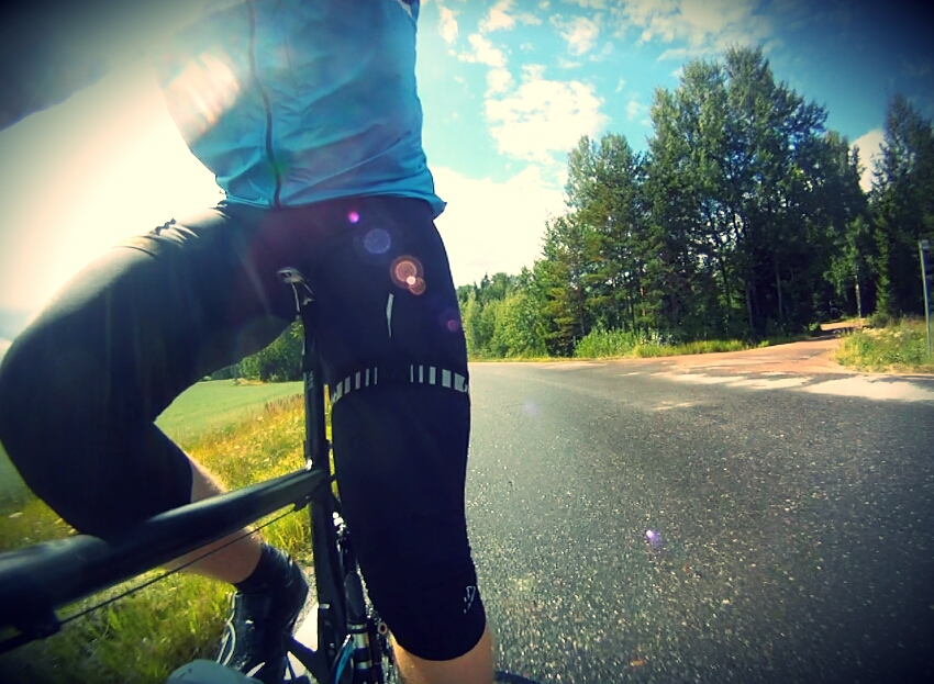 Yesterday brought some showers, fortunately the sun came out to dry up the roads and my face