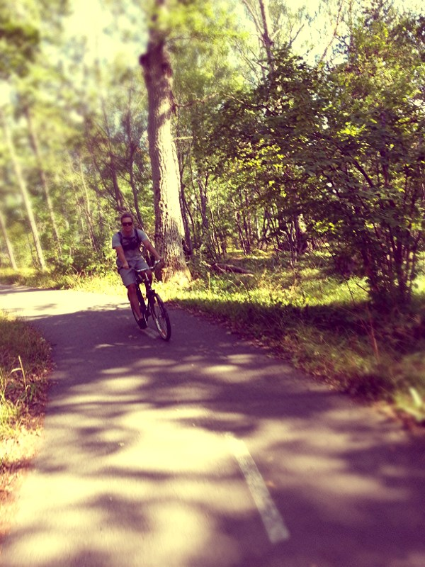 Cycling to Ruissalo is easy with proper Finnish bike
