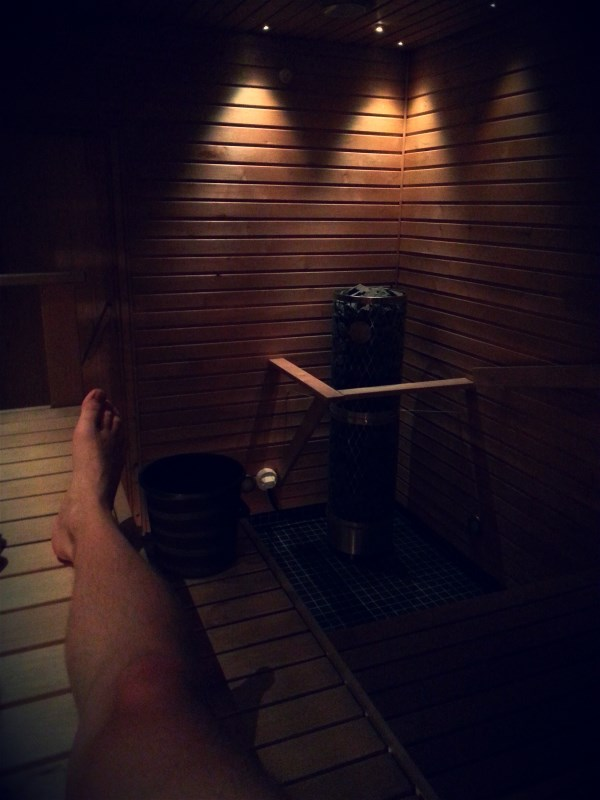 Waiting for this already, Friday sauna probably the best thing to do after a week at work