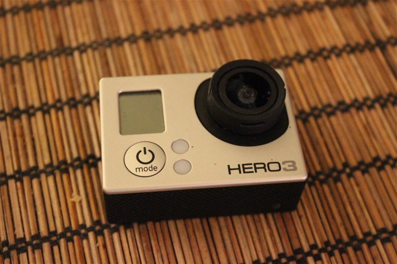 I will also record some video with this, GoPro Hero 3