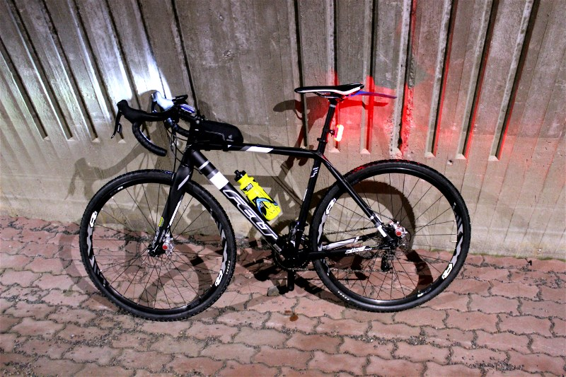 Cycling in darkness