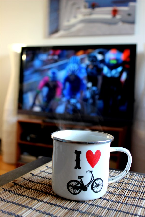 Watching the People's Choice Classic with a steaming cup of Italian Coffee