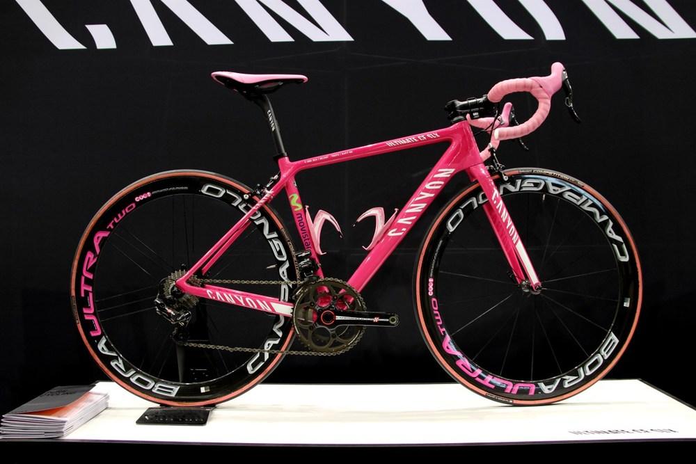 Canyon Ultimate CF SLX Nairo Quintana Giro d'Italia edition