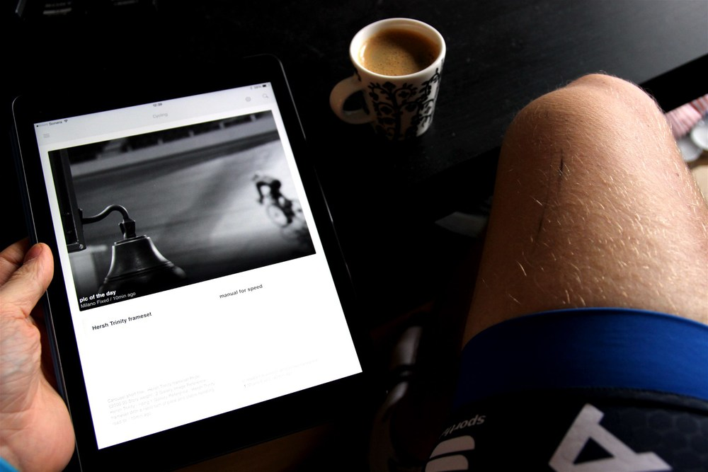 Early morning, pre-ride coffee and the latest news and stuff from the world of cycling