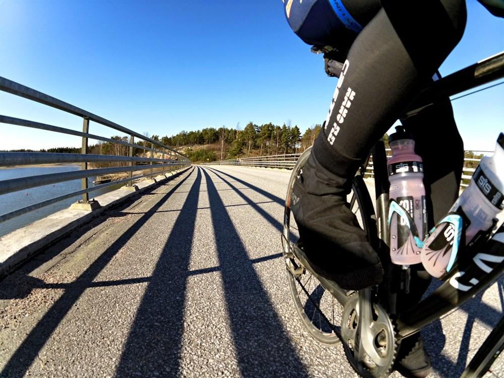 Crossing the Attu bridge