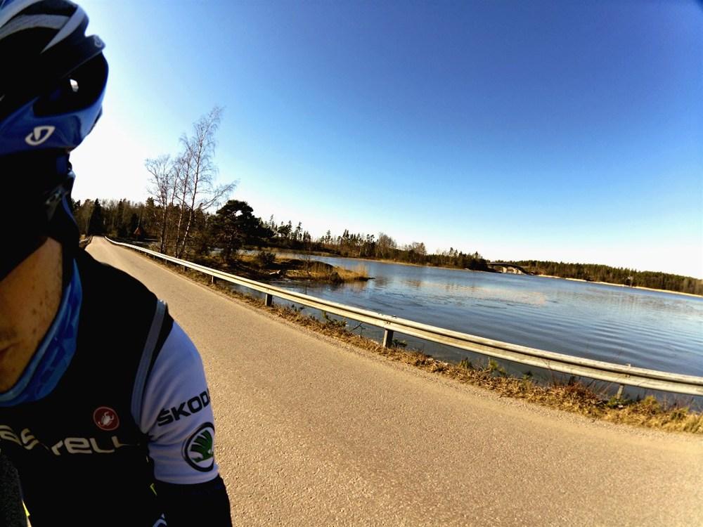 Attu bridge in the background
