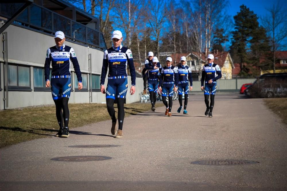 The first steps towards season 2015taken in Tikkurila in March