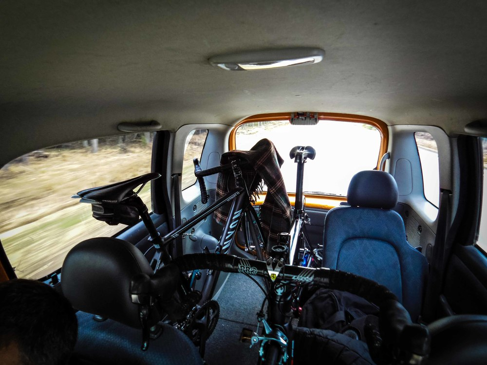 _THE_ car for travelling with bikes