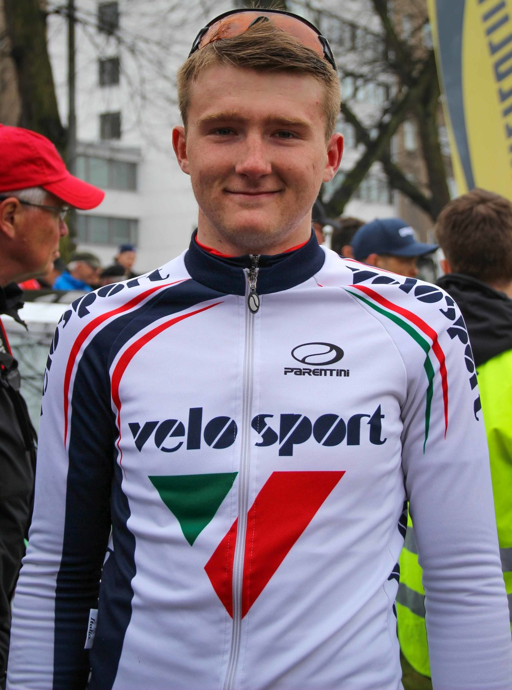 Maksim Sukhov, the winner of TS Kortteliajot 2015 had all the reasons to smile