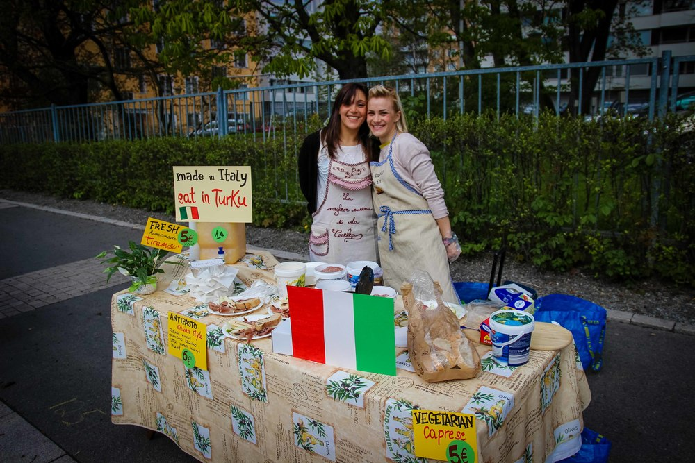 Made in Italy, eat in Turku