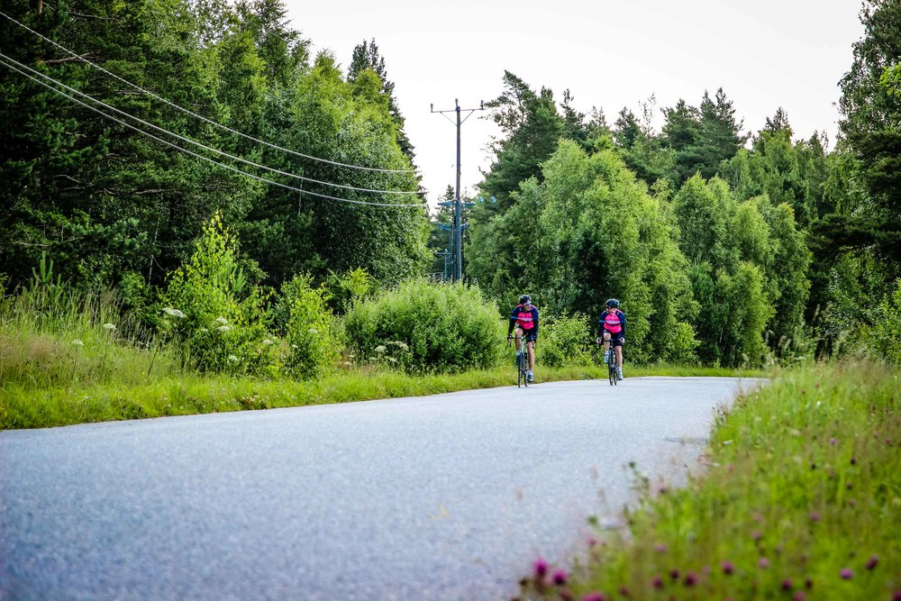 We also rode the Archipelago trail in July, a great day in the saddle. A story will follow!