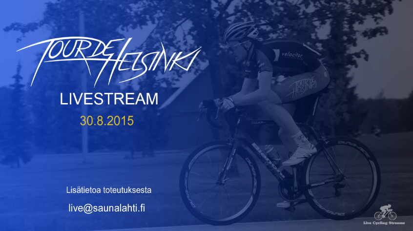 You can still watch the Tour de Helsinki 2015 on  YouTube .