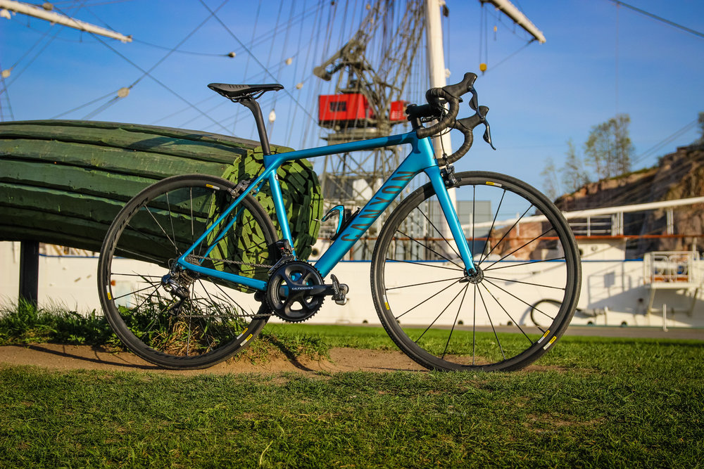 The 2016 Canyon Ultimate CF SLX 8.0 DI2