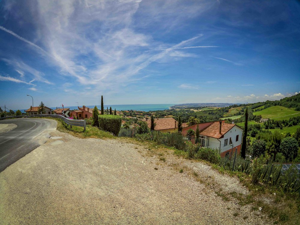 Cycling in Marche, Italy       Read the story