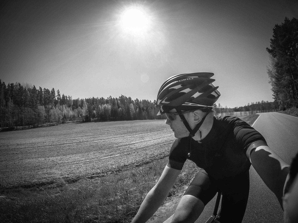 I did my first +100 km ride (in Finland this year) May 10th. It was a superb day in the saddle!