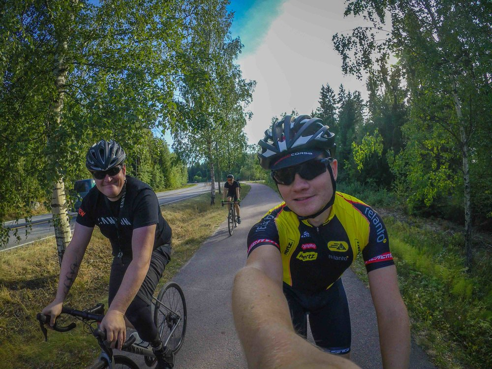 We did the annual crew ride with Kari in August. Awesome. Simply as that :)