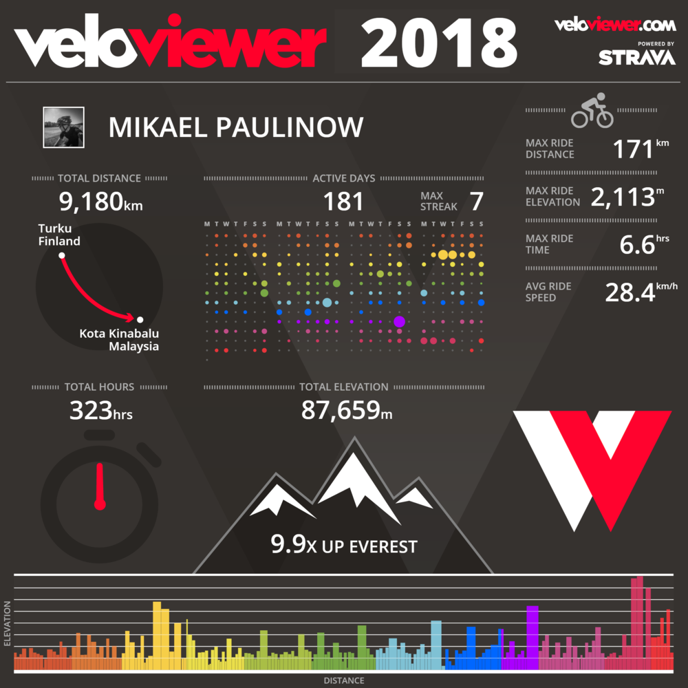 Year 2018 infographic