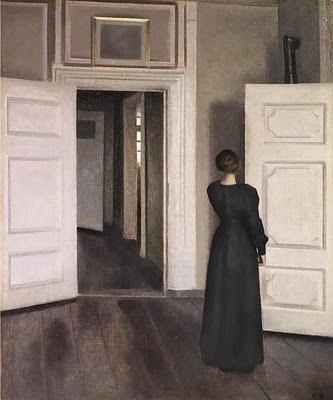 Interior   - Vilhelm Hammershøi (1864–1916)
