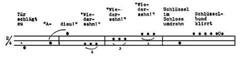 Weekend [1930] - extract of score • www.medienkunstnetz.de