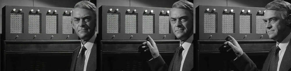 """""""Listen...I know you are police reporters and you hear this all day long, but I want you to listen with conscience not just your ears."""" - John McIntire in  The Asphalt Jungle  [1950]."""