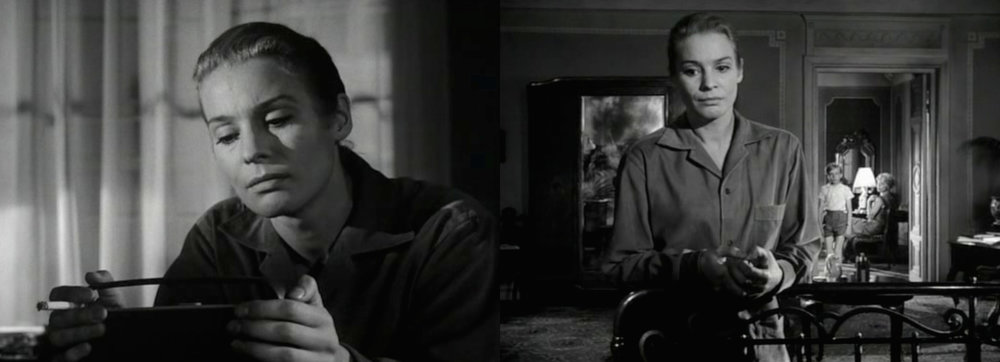 Radio Bach: Ingrid Thulin as Ester in Bergman's  Silence  [1963].