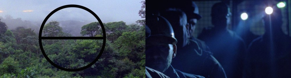 Two stills from Good Luck [2017]. Source: www.tate.org