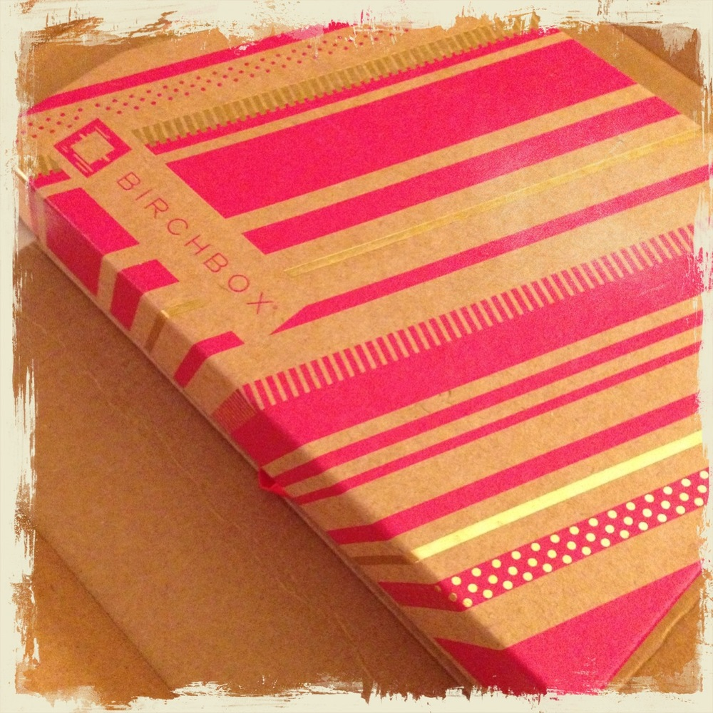 BirchBox - Unwrapped from the outer shipping carton.