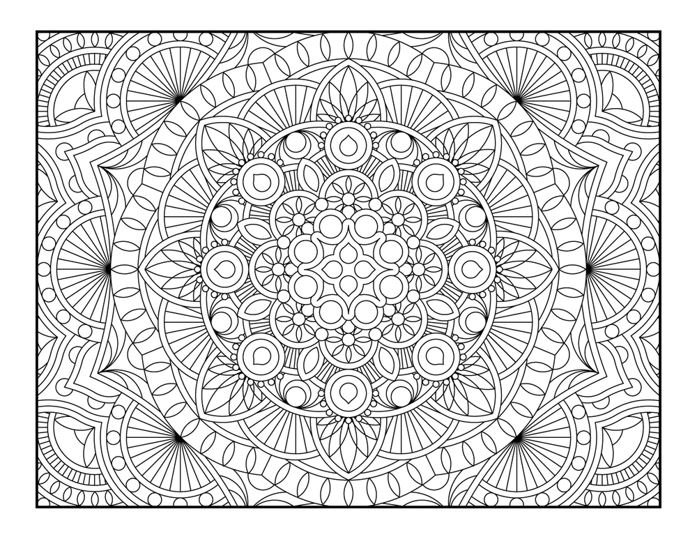 (Click Image to Download) Printable Coloring Page from my Etsy Coloring Book 1 - 2013 (Click here to purchase this book.)