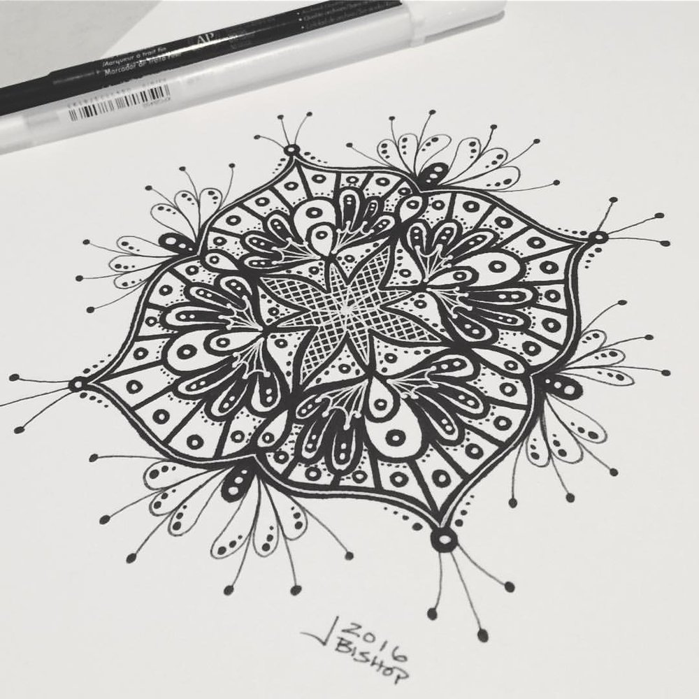Finished drawing. #sharpie #doodle #drawing