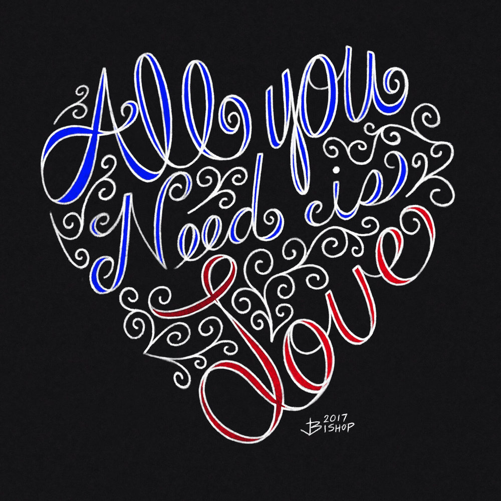 Playing with text. More chalkboard art. #lineaapp #typography #textart #digitalart #drawing