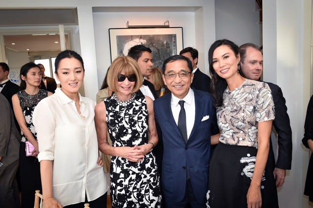 Gong Li, Anna Wintour, Cyrus Chow and Wendy Deng