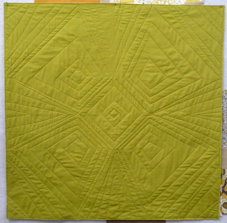Have I mentioned how much I LOVE how the Shot Cottons show off quilting??