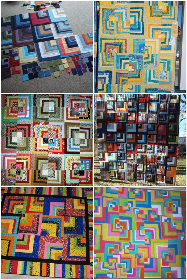sample photos of quilts and blocks made by other quilters. Click this photo to see the link in my Flickr photostream with the source links attached.