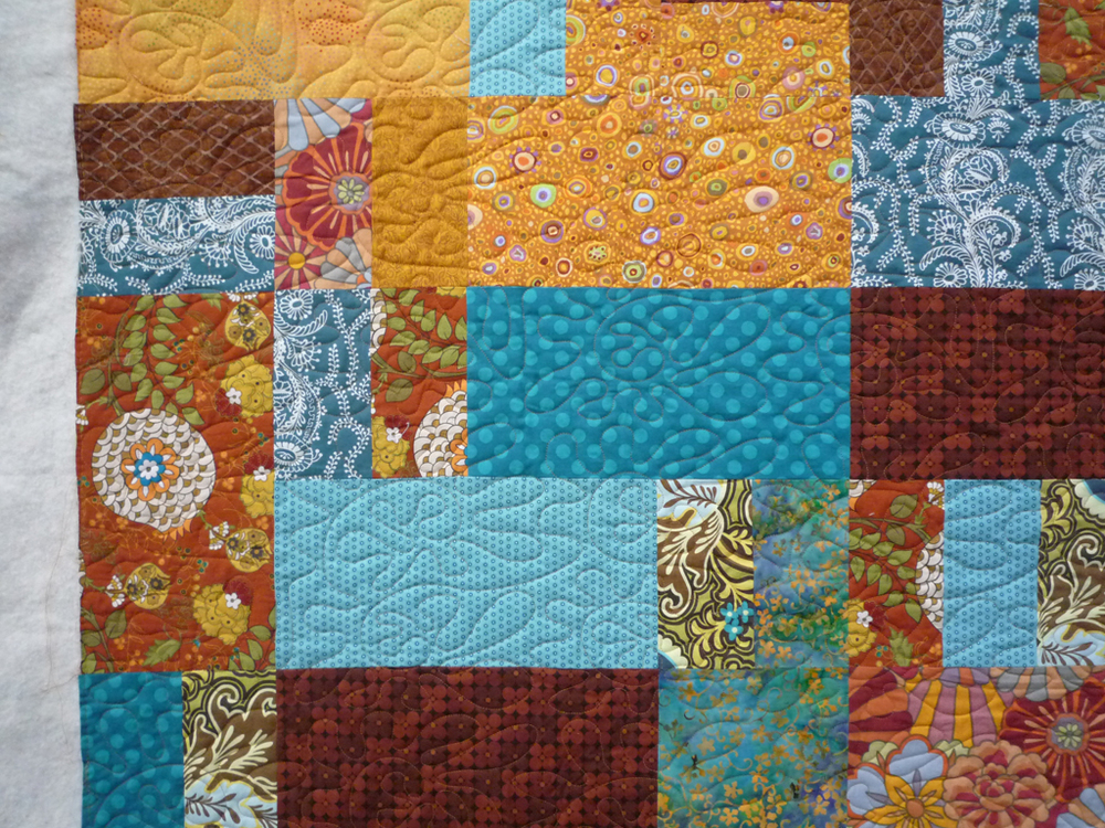 Quilting by Jolene Knight of Good Knight Quilts.