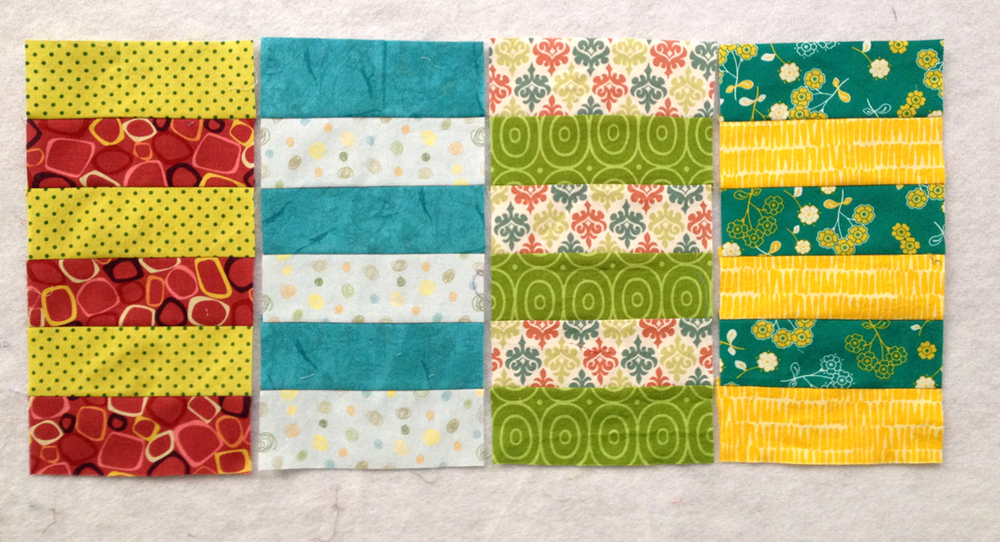 March blocks based on the  Rugby Stripe  block by Teaginny.