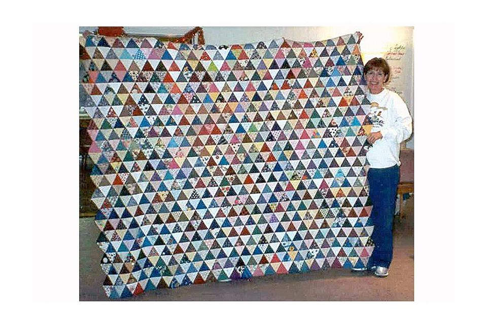 Found in Step-by-Step Quilting... Click image for source.