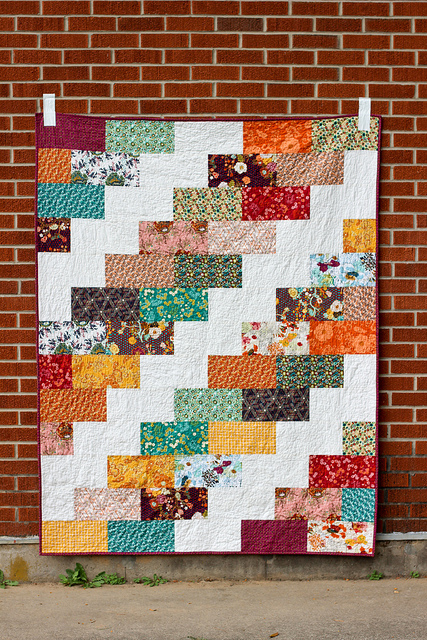 Side Braid Quilt by Jeni Baker, via Flickr. Click for original image source.