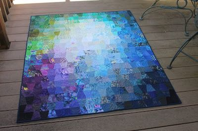 Scrapapalooza 1-patch. I love her process blog post on Quilting is More Fun than Housework. Click image for post.