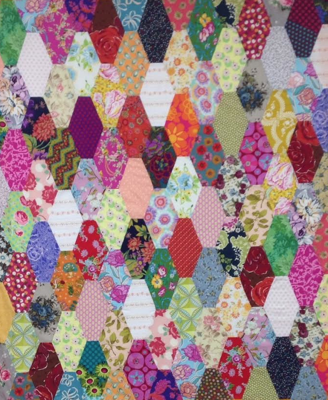 Stretched Hex, by Victoria Findlay Wolfe. Templates on her website, just click the image.