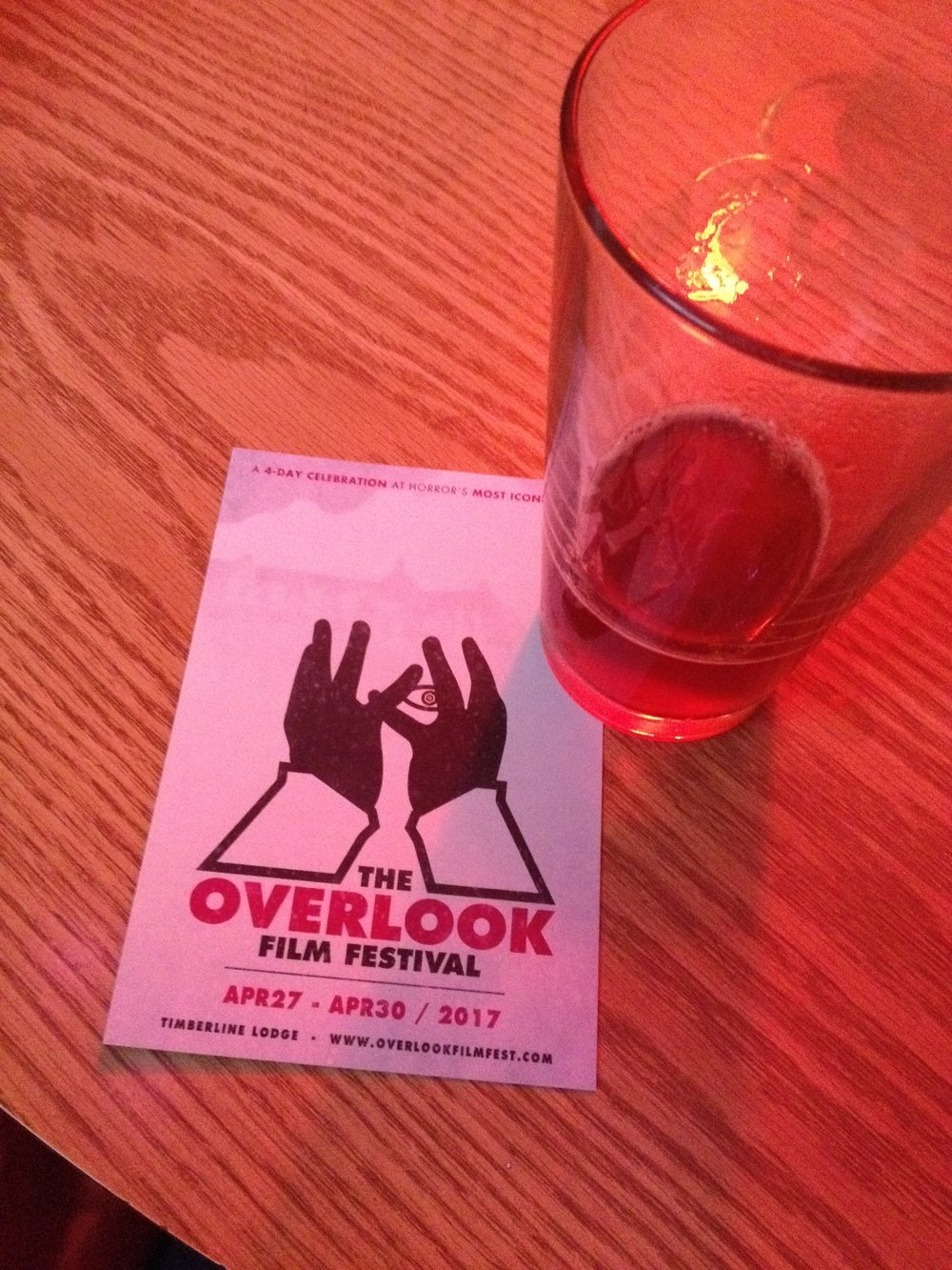 Found a card for the festival at a NE Portland neighborhood bar a couple of weeks ago. Happy to help promote!