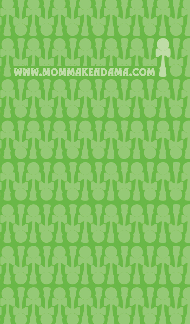 momma kendama business card - back